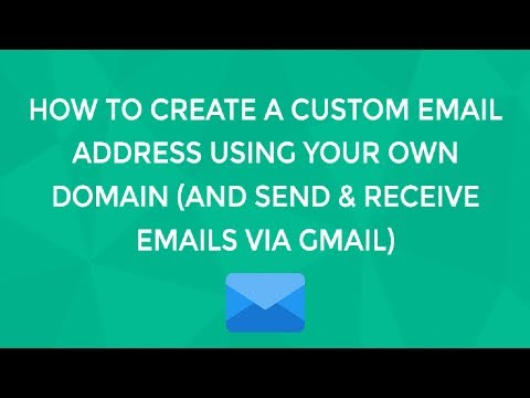 Setup Custom Email with Gmail without using GSuite