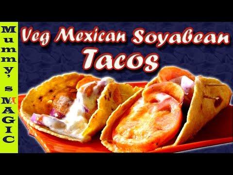 dominos taco mexicana   taco mexicana dominos recipe   Veg Mexican Soyabean Tacos   Mummy's MAGIC