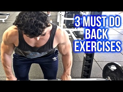 How To Build A BIG Back | 3 Must Do Exercises For Wide Lats | V-Taper