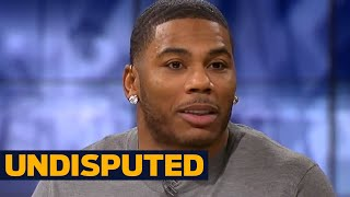 Nelly takes on Skip Bayless : LeBron James is a top 5 all-time NBA player | UNDISPUTED