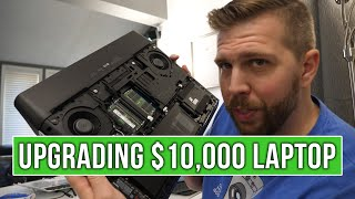 I Disassembled and Upgraded My $10,000 Alienware Area 51M! Here's How I did it...