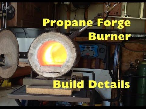How To Make A Propane Blacksmith Forge Burner ~ Build Details - MSFN