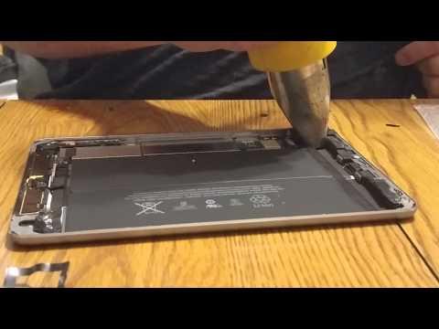 iPad Mini 3rd Generation Digitizer Glass Repair / Replacement