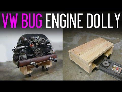 $12 DIY VW Bug Engine Dolly
