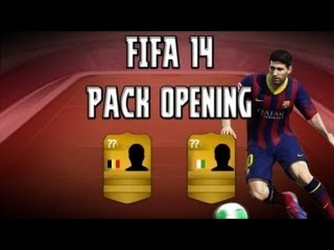 FIFA 14 ultimate team:back to back packs (PACK opening)