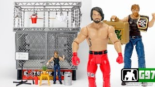 WWE Ambrose Asylum Figure Playset - NEW AJ STYLES + MORE | Wrestling Figure Observer Podcast #27
