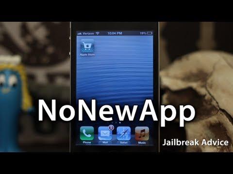 [Jailbreak Advice] NoNewApp - Hide