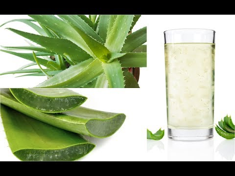 how to make aloe vera fresh juice at home