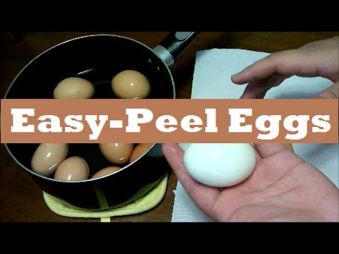 How to Cook Perfect Easy-Peel Boiled Eggs