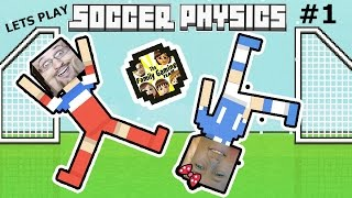Dad vs. Daughter SOCCER PHYSICS:  Put a Shirt On!!!    FGTEEV Part 1 Funny Gameplay
