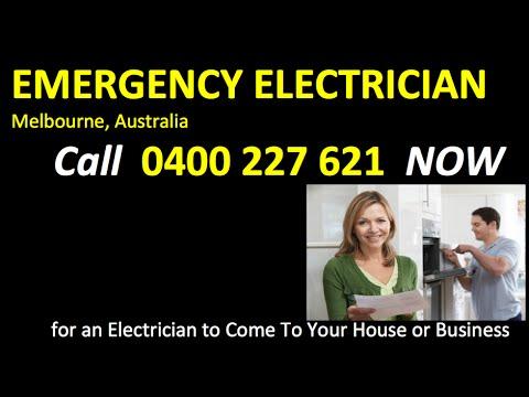 24 7 Electrician Melbourne Australia Call 0400 227 621 NOW