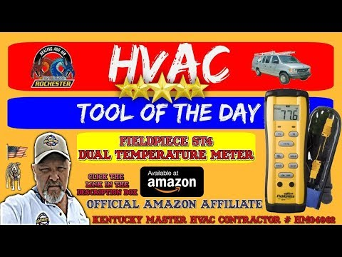 Fieldpiece ST4 Dual Temperature Meter : HVAC Tool of the Day