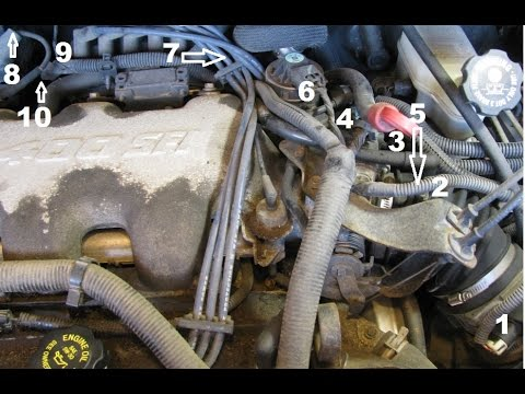 3.4L GM lower intake manifold gasket replacement part 1: Intro and removing upper components