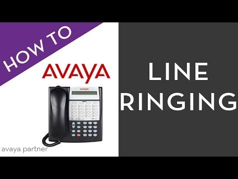Avaya Partner programming tips: Line Ringing