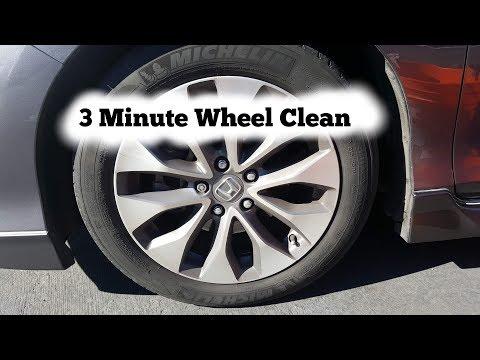 [DIY] 3 Minute Wheel Cleaning