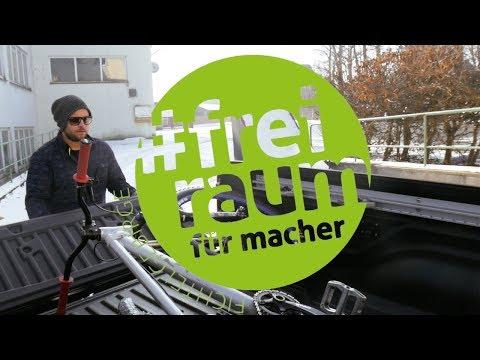 Freiraum für Macher | Imagevideo RadQuartier - Robin Specht