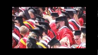 Motorola Solutions CEO Greg Brown Gives Commencement Speech at Rutgers University