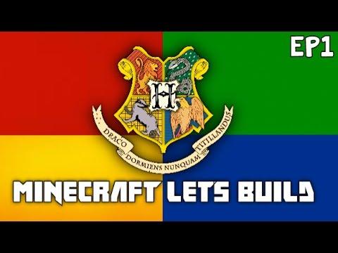 Minecraft Lets Build Hogwarts - Harry Potter Lets Build - MM EP11