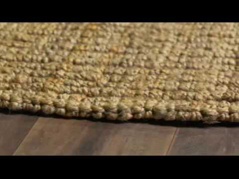 Safavieh Hand-Woven Natural Fiber Chunky Jute Rug (9' Square) - Overstock.com