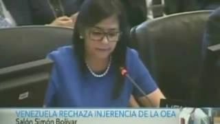 Así Fue Como La Embajadora De Paraguay Le Tapó La Boca A Delcy Eloína Y Con Estilo