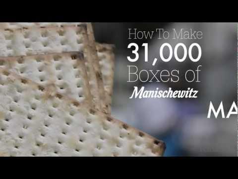 How to Make 31,000 Boxes of Manischewitz Matzo