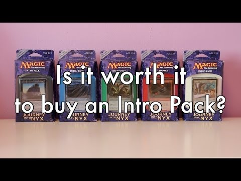 MTG - Is It Worth It To Buy An Intro Pack? A detailed analysis. Magic: The Gathering