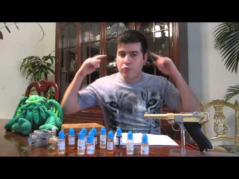 My Mt Baker Vapor E-Juice Experience: ¡Best E-Juice! (12 Flavours)
