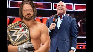 Top WWE Star Retires! Kurt Angle Gets WWE Title Match Revealed WWE Mixed Match Challenge मैच