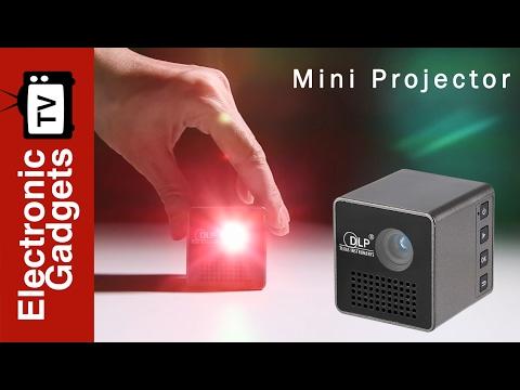 Pocket DLP Mini Projector Cube G1 Review