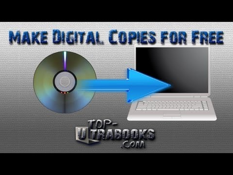How to Make Digital Copies of DVDs Free - PC Noob Guide