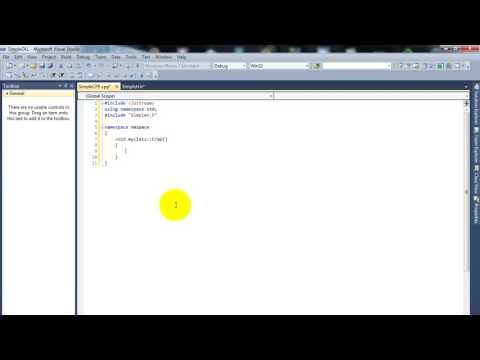 C++ Tutorial  Create a DLL in VC++ 2013 or 2015