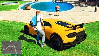 Ich KLAUE YouTuber AUTOS in GTA 5 RP!