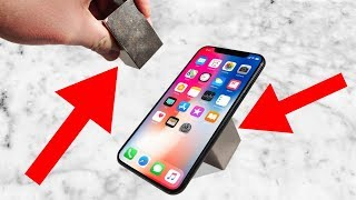 Insane 1200 lb Neodymium Magnets vs iPhone X! Can It Survive?