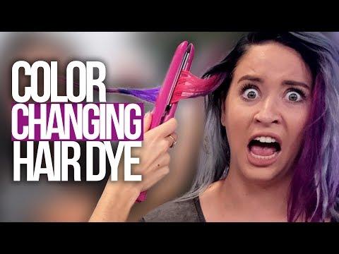 Magic Color Changing Hair Dye?! (Beauty Break)