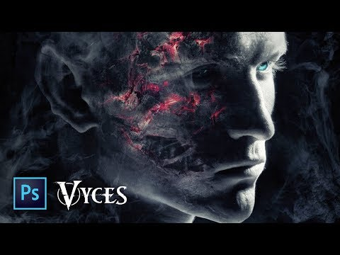 Photoshop - Making of Vyces Devil Artwork