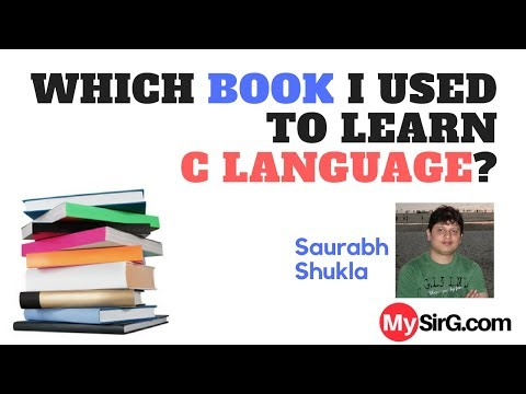 Which book I used to learn C language? | LIVE  (in Hindi)