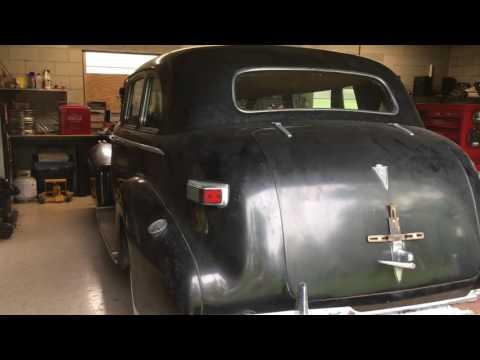 1940 Cadillac Barn Find