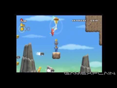 New Super Mario Bros. Wii Level 6-1 Star Coins