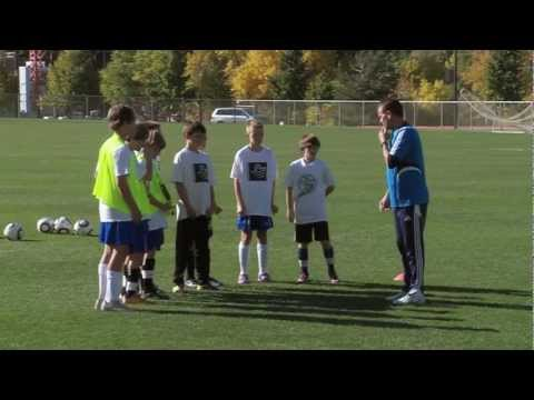 Soccer Training - Defending Drills 1