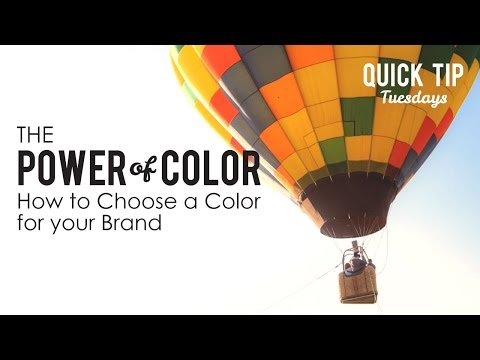 The Power of Color, How to Choose Color for your Brand