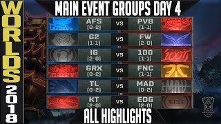 Download Worlds 2018 Day 4 Highlights ALL GAMES Main Event Video