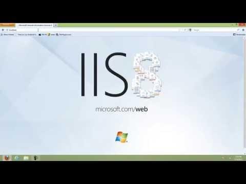 how to get IIS 8 On Windows 8
