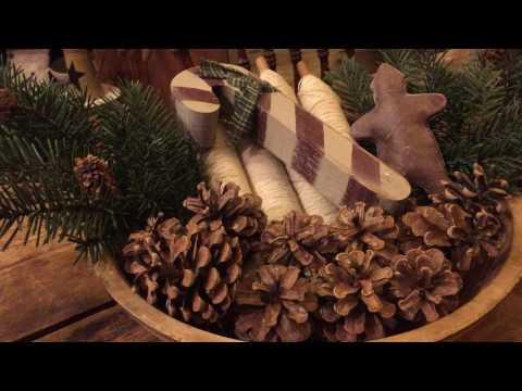 Primitive Christmas DIY Easy Decoration