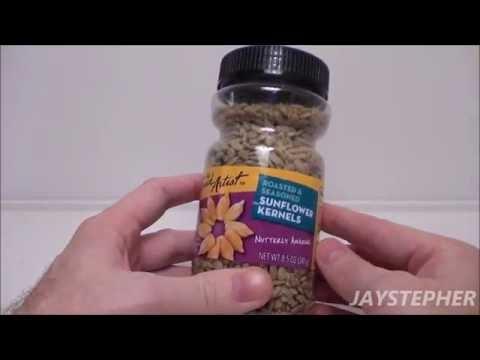 Snack Food Review - The Snack Artist: Roasted & Seasoned Sunflower Kernels