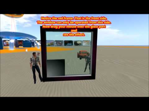 Build a draggable sci-fi window for Opensim and Secondlife- Get the Free Script