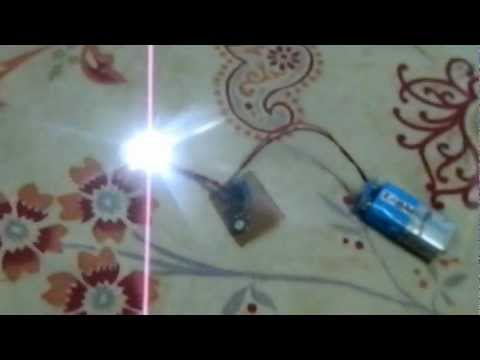 555 ir remote controlled switch