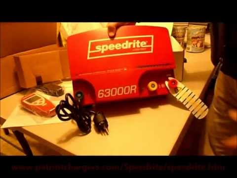 The Worlds most powerful electric fence charger... The Speedrite 63000RS