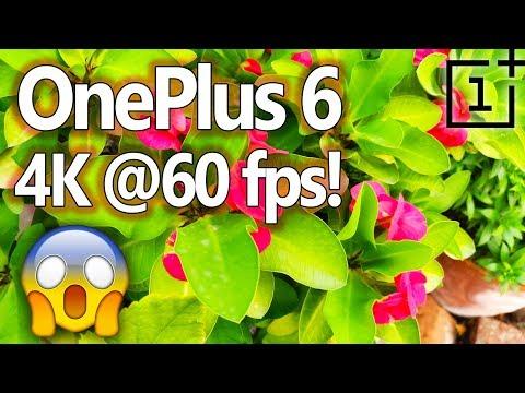 OnePlus 6 4K @60fps 🔥 Breathtaking Video Sample! [Lowlight]