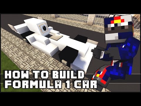 ► Minecraft : How to Make - Formula 1 Car