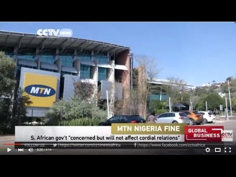 South Africa concerned over Nigeria's fine on MTN